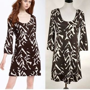 "DVF 2 ""AGGIE"" print dress"